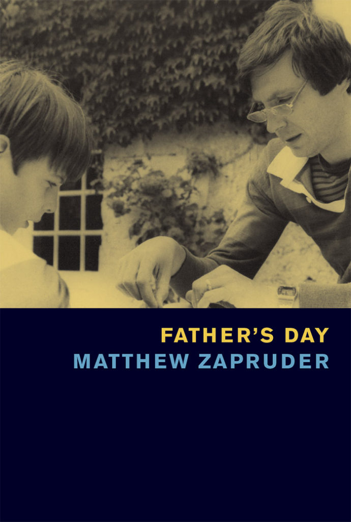 Father's Day matthew zapruder